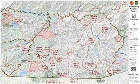Map Of Western North Carolina Air Quality U0026 Wildfire Containment Improving Weather Next Few