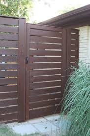 Gate For Backyard Fence Modern Horizontal Fence The Cavender Diary