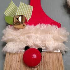 paintbrush santa ornaments my scrapper