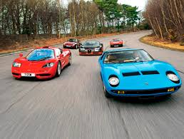 bugatti lamborghini ferrari mix fascination supersport legends from four decades mclaren f1