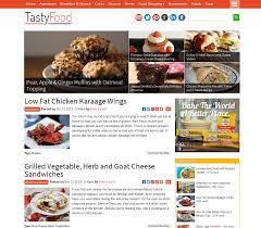 blogs de recettes de cuisine 14 thèmes pour votre site de recettes de cuisine