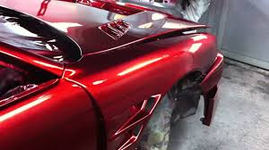 Red Paint by Chrome Candy Red Paint S14 Wide Body Kouki Nissan 200sx Silvia