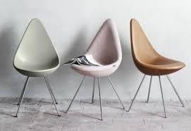 Arne Jacobsen Dining Chairs Arne Jacobsen Drop Fiberglass Dining Chair Modern Design For