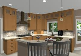 kitchen island design for small kitchen clipped corner island with seating design in small kitchen