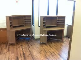 ikea galant corner desk black brown hostgarcia
