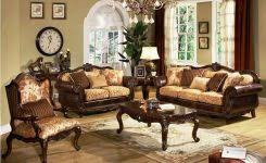 Rooms To Go Living Room Furniture Santos Espresso  Pc Table Set - Living room sets rooms to go