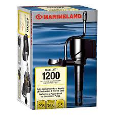circulating pump for water heater amazon com marineland ml90512 maxi jet 1200 pro 295 1300gph