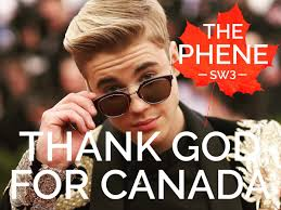 the phene on canadian thanksgiving monday 9th october