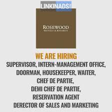 we are hiring at rosewood hotel abu dhabi hospitality restaurant we are hiring at rosewood hotel abu dhabi