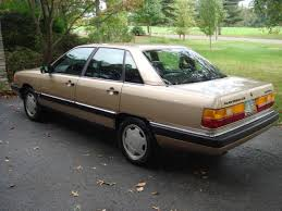 audi 5000 for sale for sale 1987 audi 500 cs turbo quattro wooster audifans com