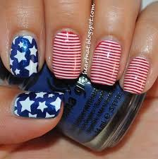 15 easy u0026 cool fourth of july american flag nail designs 4th of