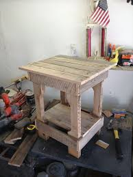 Build Wooden End Table by End Table Made From Pallets Wood Pallet Furniture Diy Rustic