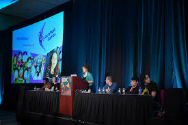 gdc themed events gdc 2018 s 1reasontobe panel stories of resilience and growth