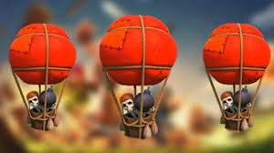 clash of clans in minecraft 3 air balloon youtube