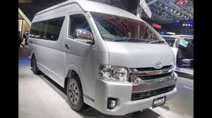 toyota hiace interior 2018 toyota hiace luxury 10 seater mpv detailed prices features