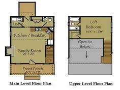 Small Floor Plans Cottages Small Cabin Design 16 X 24 Just Right For Two A Great Idea For