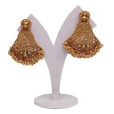 golden earrings golden earrings at rs 525 golden earring id 14599775948