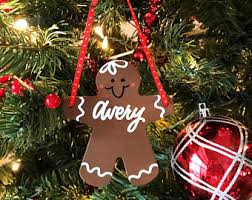 gingerbread ornament etsy