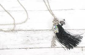 making swarovski crystal necklace images Skull fast diy necklace with swarovski crystals hydrangea hippo png