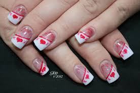 image source 1000 images about valentines day nail art designs on