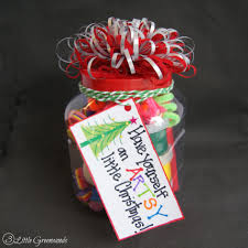 xmas gift have an artsy little christmas dollar store gift in a jar