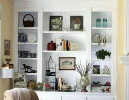 White Shabby Chic Bookcase Long Wall Shelf Unit Shelves Canada With Hooks And Mirror Handmade