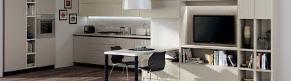 Scavolini Kitchen by Furnishing Between The Kitchen And The Living Room