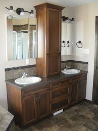 2 Sink Vanity Backsplash Alternative To Time Wall Need It To Be High