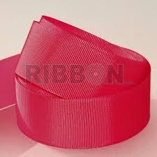 ribbon grosgrain 50m x 25mm grosgrain ribbon hot pink