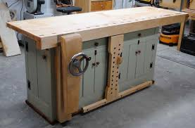 Woodworking Bench Plans by First Light Woodworking Unplugged Bench Build Complete