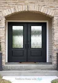 Southern Home Remodeling Black Interior Door Designs