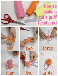 how to make baby flower headbands diy tulle puff headband tulle knot headband knot headband diy