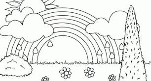 coloring pages fabulous coloring rainbow color pages