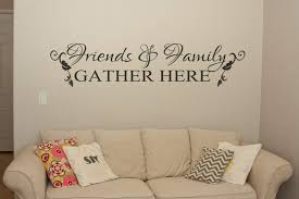 friends and family wall art decal wall art decal sticker