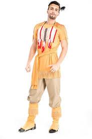 halloween costume native american mens native american wild west 80s ymca fancy dress reduced