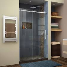basco rolaire 59 in x 76 in semi framed sliding shower door and