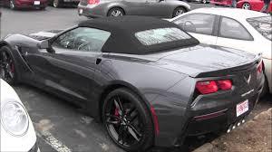 corvette c7 convertible 2015 corvette c7 convertible in grey