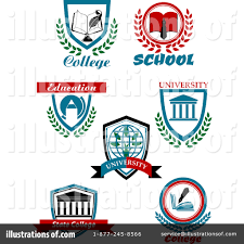 college clipart 1286055 illustration by vector tradition sm