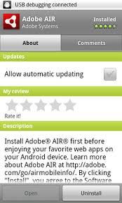 adobe air apk adobe air v2 6 0 1915 apk