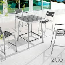 Zuo Christabel Folding Bar Table Barrique Bar Table Domitalia At Metropolitandecor