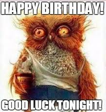 Owl Birthday Meme - owl cartoon birthday memes cartoon best of the funny meme