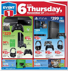 black friday xbox one and ps4 deals at a glance sizing em up