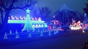 christmas lights springfield mo mike bagwell house springfield 1 youtube