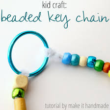make it handmade key chain kids craft
