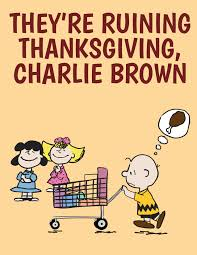 peanuts happy thanksgiving peanuts the lost holidays posters fun blog