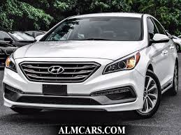 2015 used hyundai sonata 4dr sedan 2 4l sport at alm gwinnett