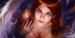 wallpaper angel art hd girls 15166
