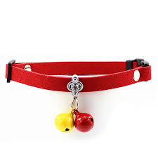 safety cat collars bell for cats personalized leather