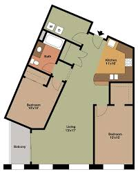 2 bedroom apartment floor plans archives the overlook on prospect