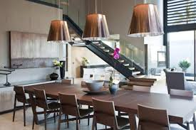 briliant idea for contemporary dining room with black wall and